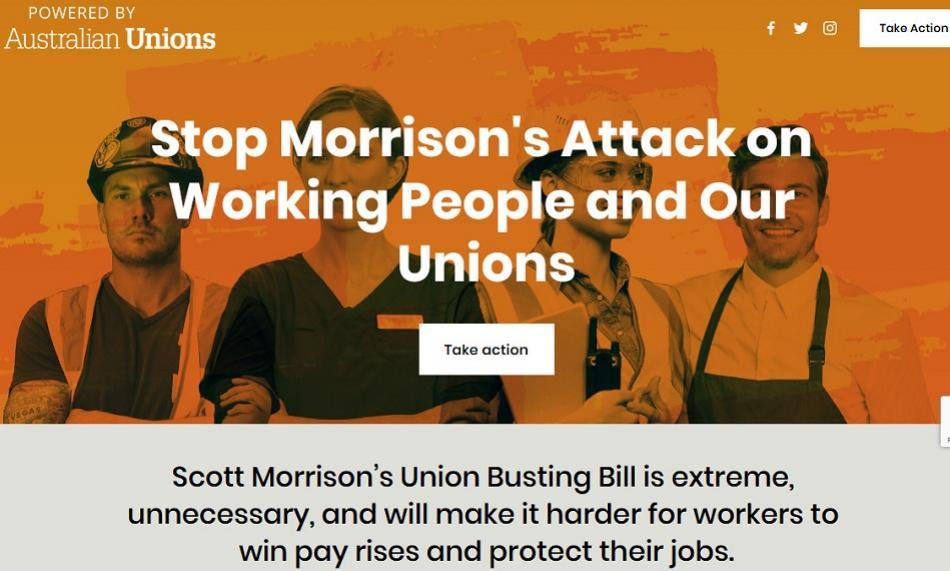Australian Unions https://standupforworkers.com/