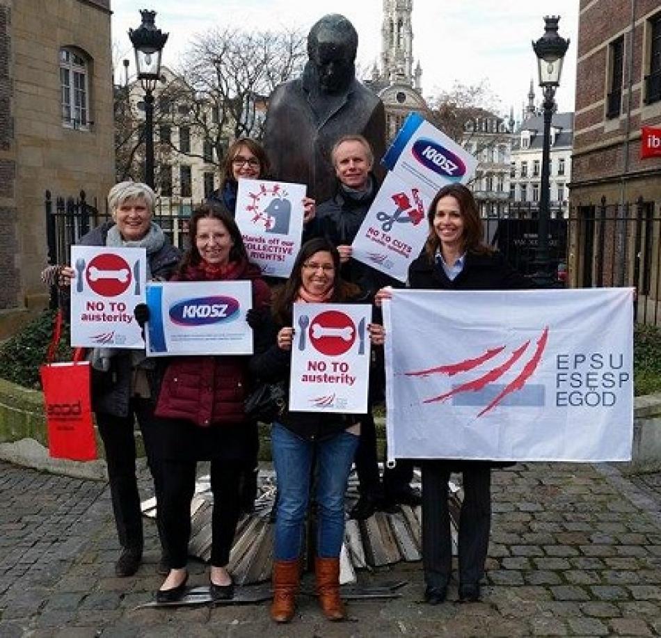 EPSU staff supports KKDSZ