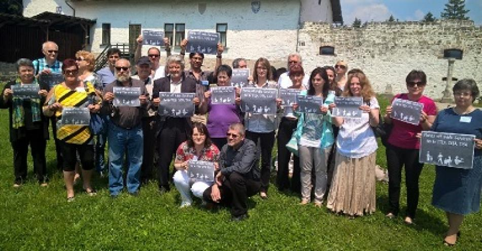 Culture Workers from Hungary, Czech Republic, Slovakia and Austria in Visegrad say no to TTIP, CETA, TiSA