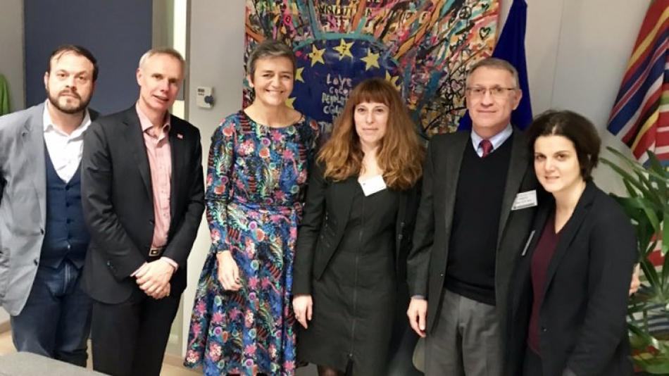 Meeting with Commissioner Vestager - tax - 17 December 2018