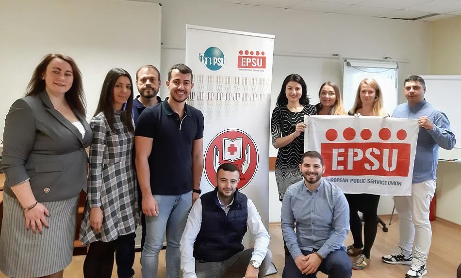 EPSU Youth Steering, Vilnius, 14 October 2019
