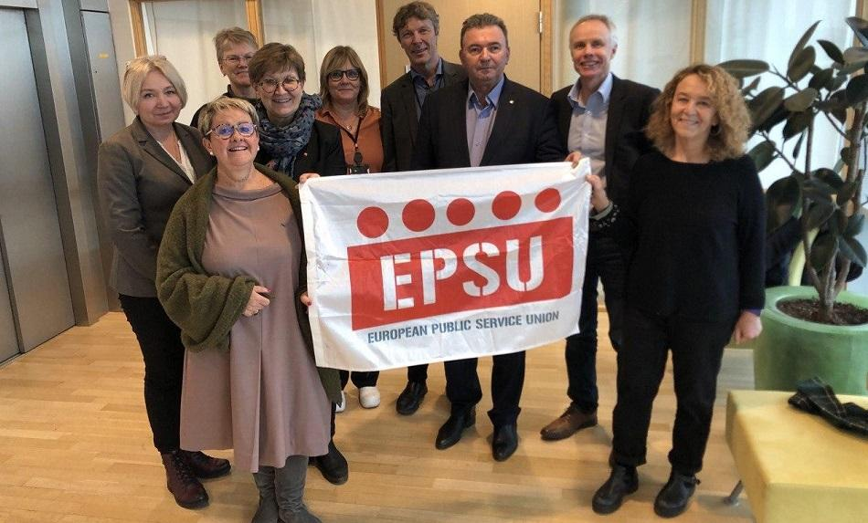 EPSU President and Vice President meeting 7 February 2020, Oslo