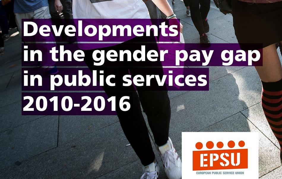 EPSU Gender Pay Gap in public services report 2018