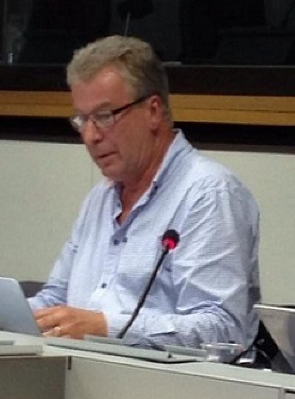 Anders Hammarbäck, VISION, Sweden, President EPSU standing committee LRG