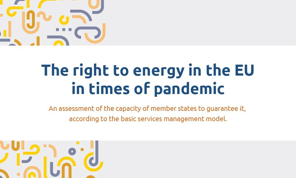 cover briefing The right to energy in the EU in times of pandemic ENglish