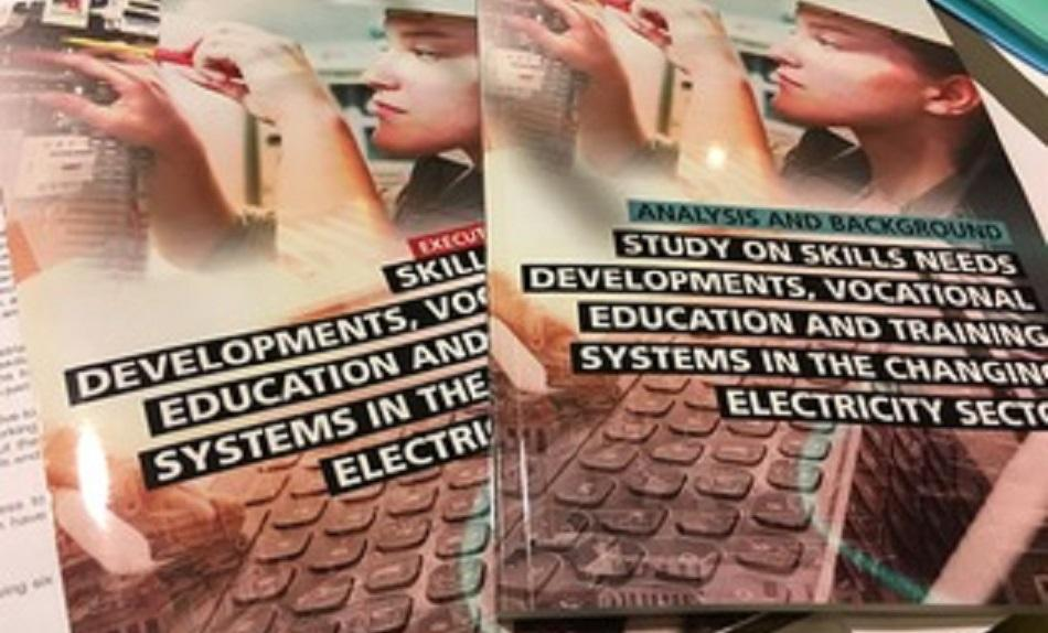cover Study on skills needs, developments, vocational education and training systems in the changing electricity sector
