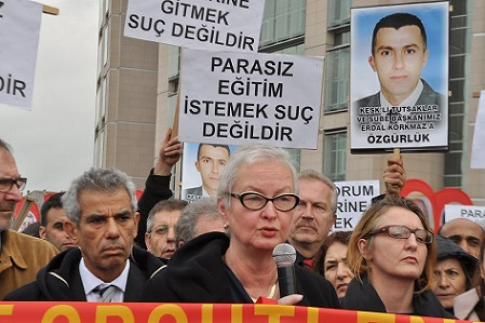 EPSU General Secretary, Carola Fischbach-Pyttel, Istanbul, 23 January 2014