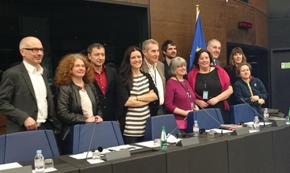 12 February 2015, new EP Intergroup on Common goods and public services