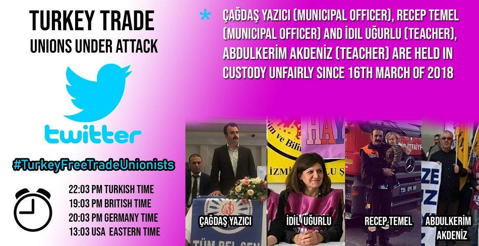 Trade Unionists Turkey