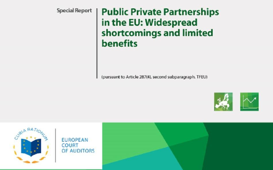 ECA report PPPs in the EU - cover
