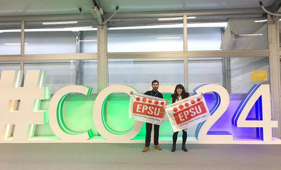 EPSU at COP 24, Katowice, December 2018