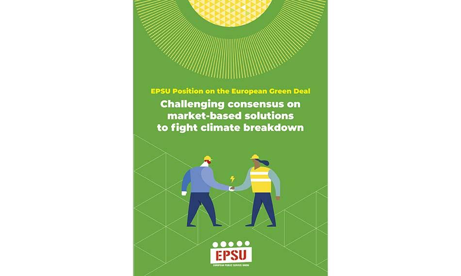 EPSU Position on the European Green Deal