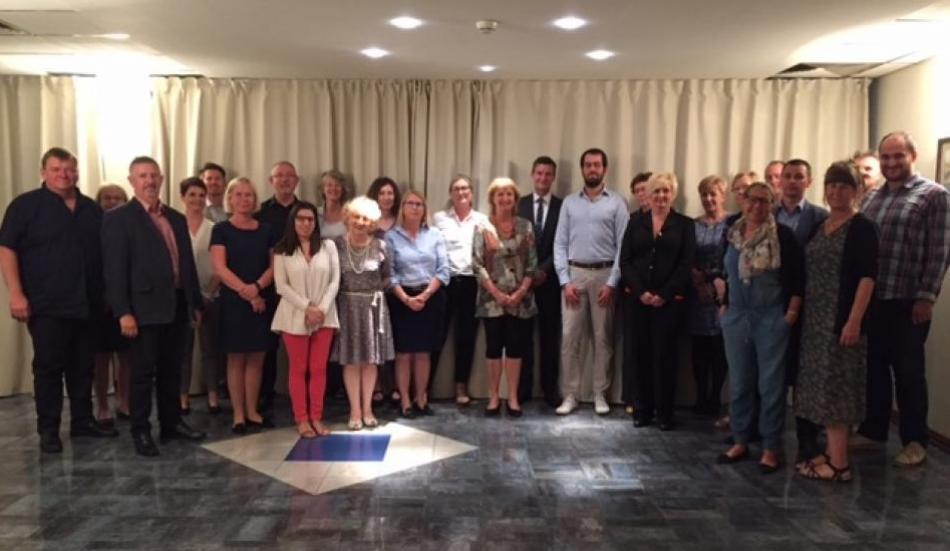 social partners in local and regional government whorkshop, Zagreb, June 2016