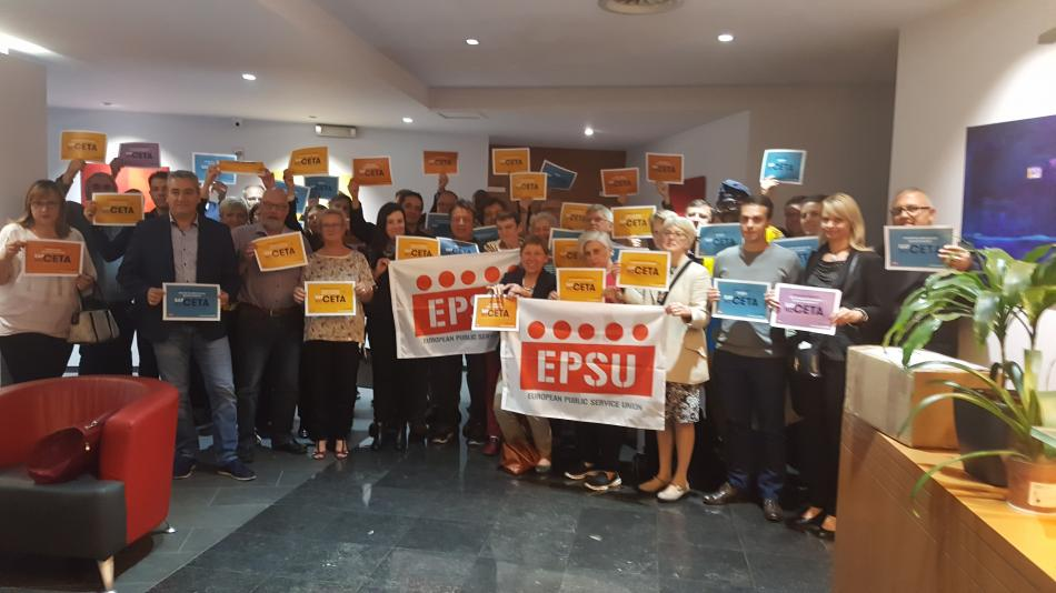 EPSU Standing Committtee on Health and Social Services adopted resolution FTA & HSS 20160922