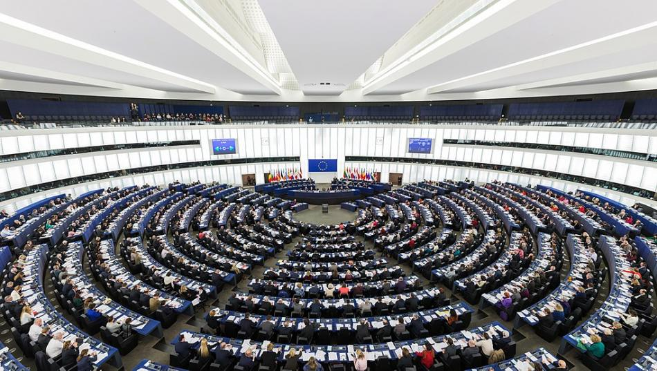 EP_Strasbourg_Hemicycle_WikiMediaCommons attribution Photo by DAVID ILIFF. License CC-BY-SA 3.0