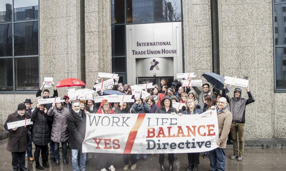 Women's day 8 March 2018 - Work life balance - ETUC