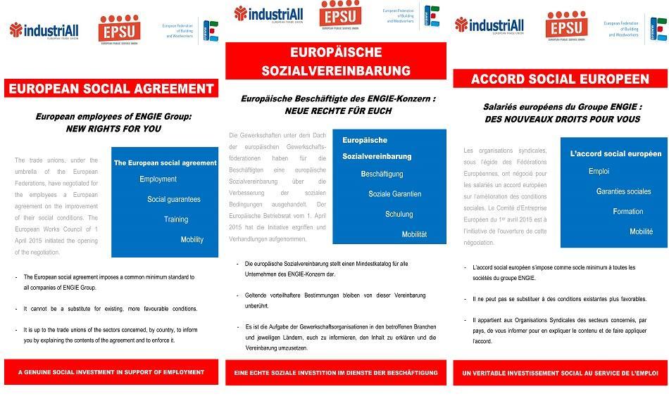 EWC ENGIE Social Agreement