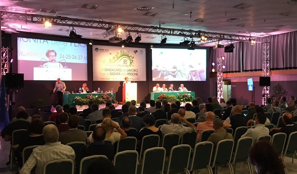 FLAEI CISL Congress May 2017, Italy