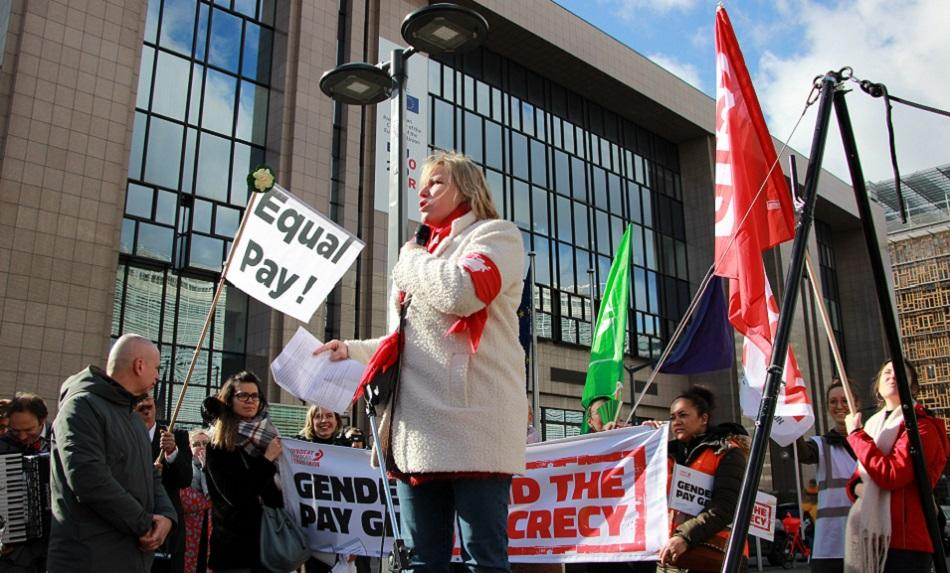 ETUC Gender pay gap action 25 February 2020, Brussels