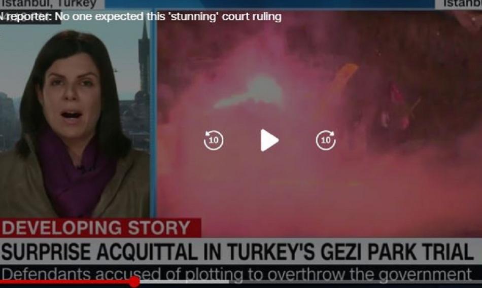 CNN news surprise acquittal in Turkey's Gezi Park trial