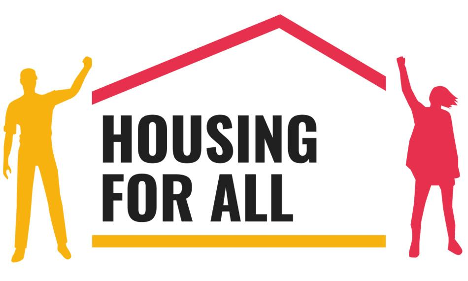 Housing for all campaign logo