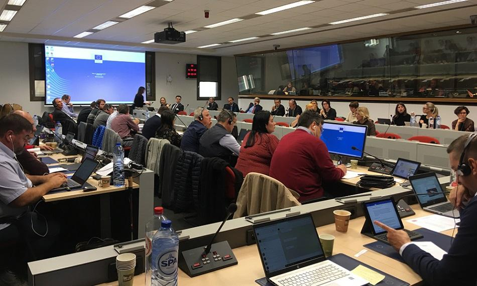 EPSU, IndustriAll, Eurogas - gas social dialogue re-launch meeting 28 October 2019
