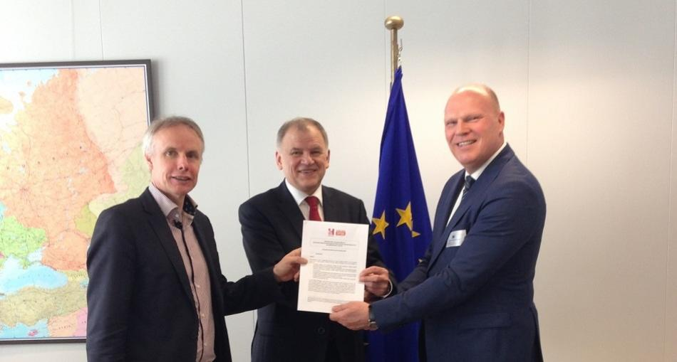 EPSU-HOSPEEM Meeting with Commissioner Andriukaitis