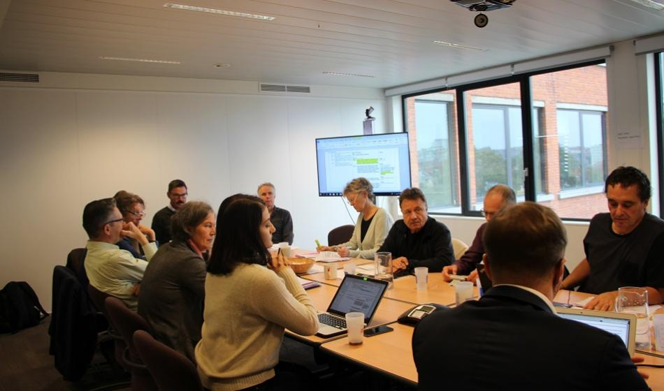 EPSU Congress Resolution Committee meeting 25 October 2018, Brussels