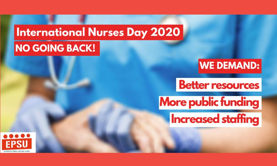 EPSU logo International Nurses day