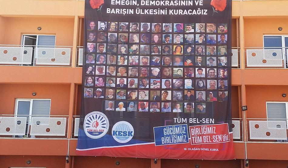 Congress TumBel-Sen KESK, Ankara Turkey, May 2017