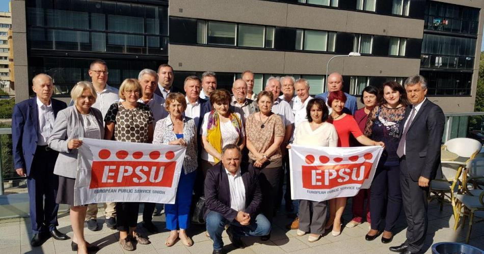 EPSU North East European Constituency meeting in Tallinn, 28-29 August 2019