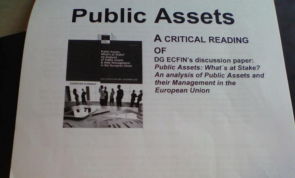 Public assets  cover