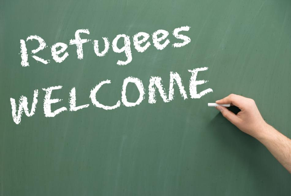 "Unions say ""refugees welcome""_16.05"