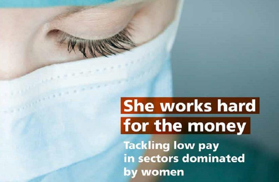 she works hard for the money - EPSU Report cover
