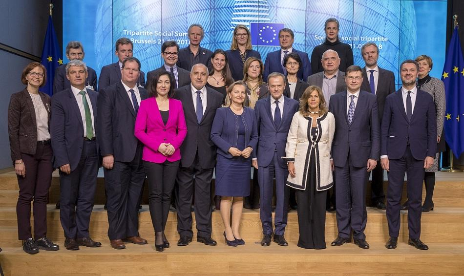 Tripartite Social Summit 21 March 2018, Brussels