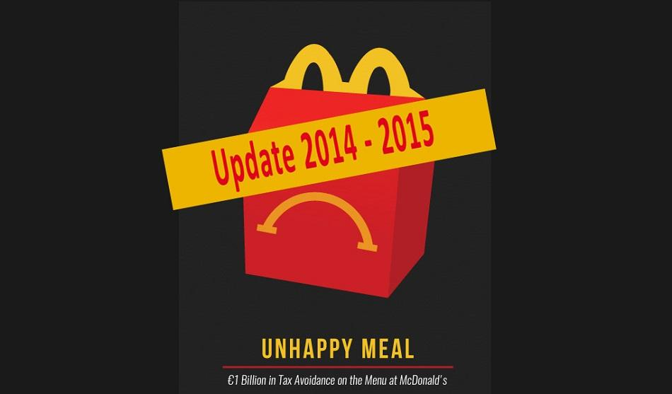 Unhappy meal McDonald update 2014-2015