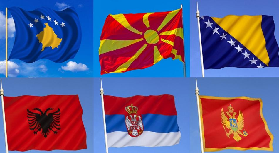 Western Balkans flags © CanStockPhoto
