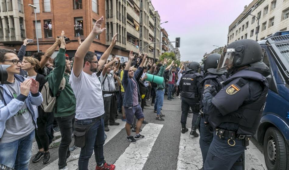 Catalonia referendum October 2017