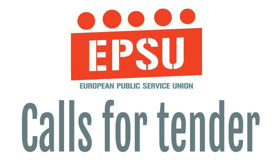 Call for tender EPSU