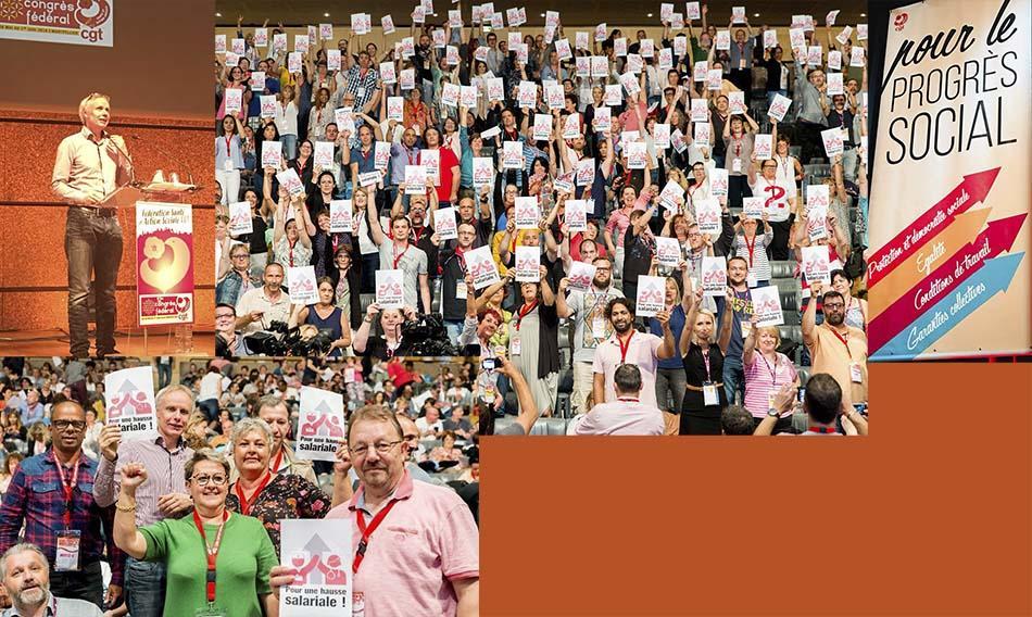 Congress CGT Santé Action Sociale, 28 may - 1 June 2018, Montpellier