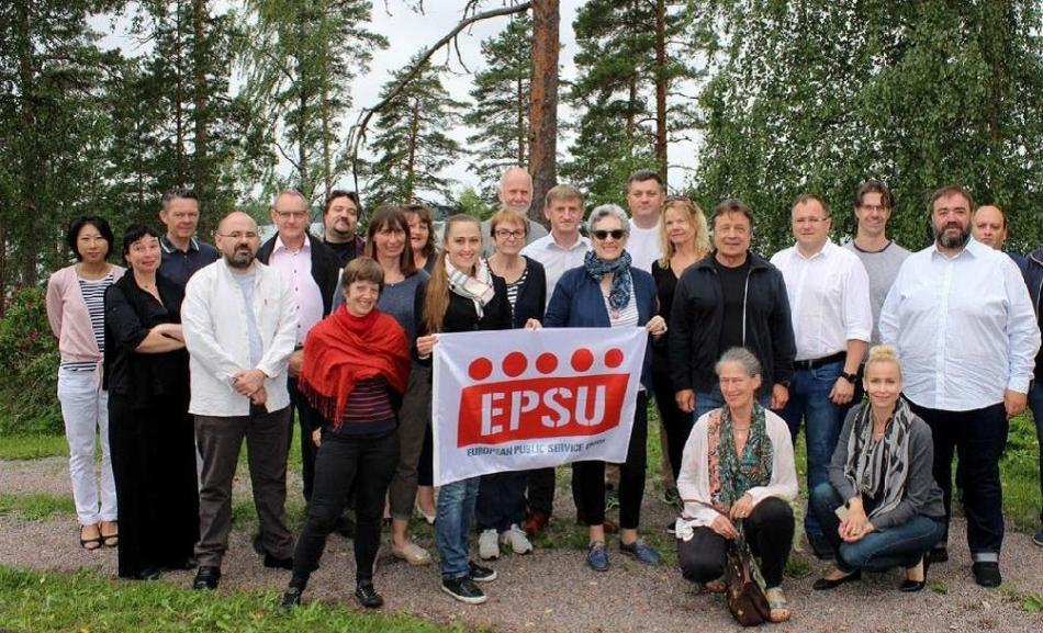 EPSU-ETUI Seminar Defending and promoting public services, 4-6 July 2018, Kiljava, Finland