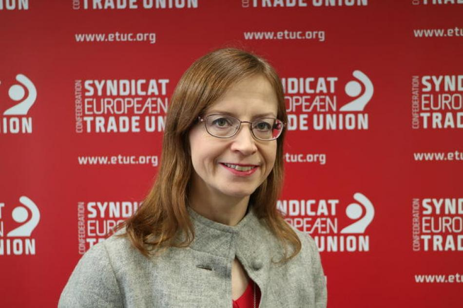 Katja Lehto-Komulainen, new ETUC Deputy General Secretary