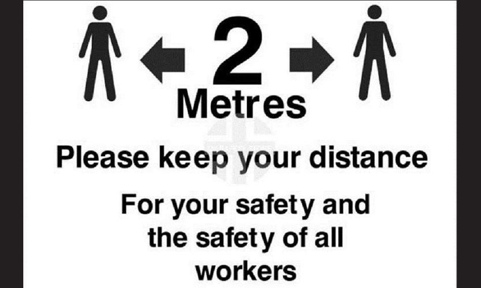 keep your distance logo
