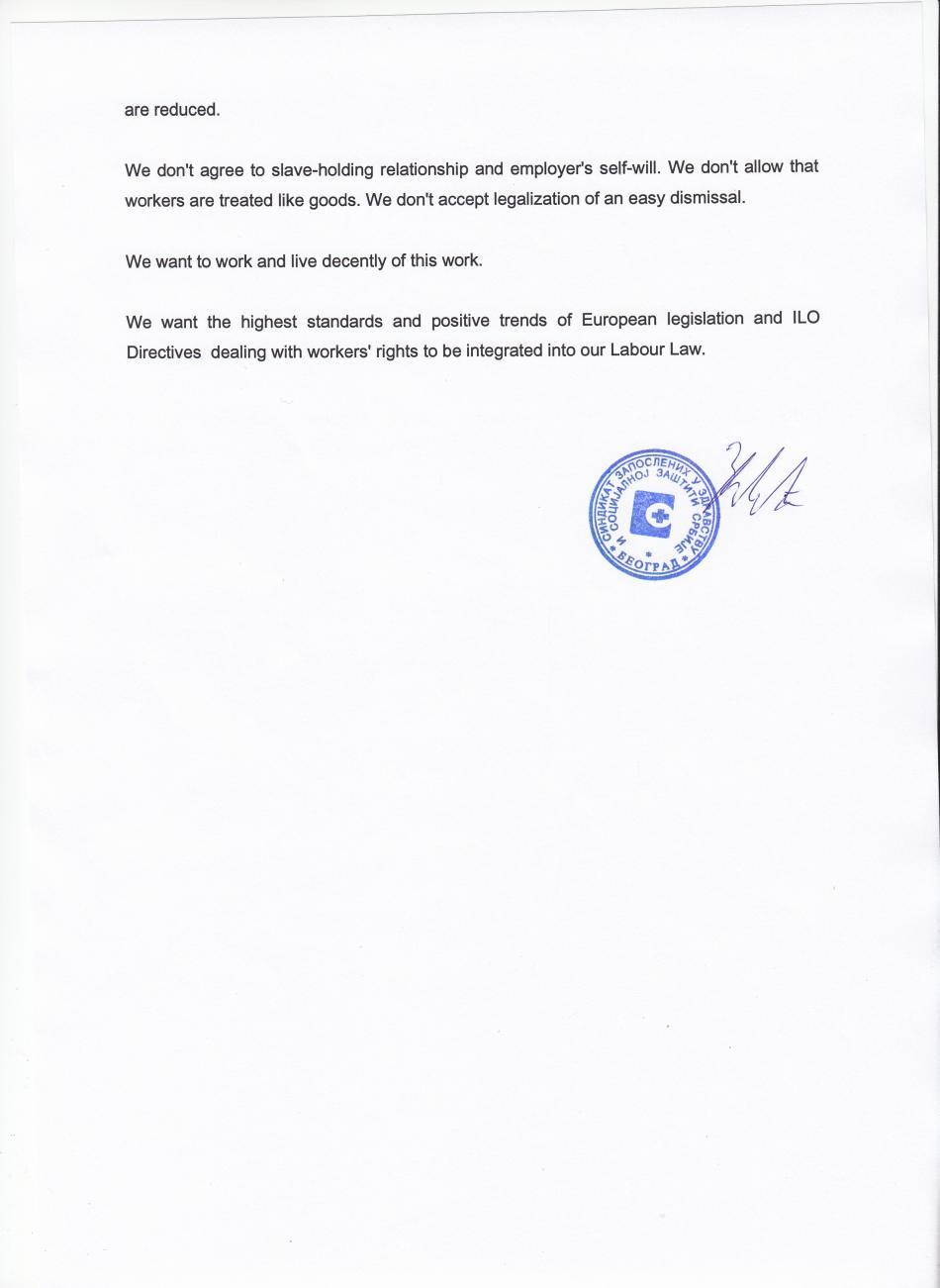 Letter Serbian Health TU (p.2) - in EN