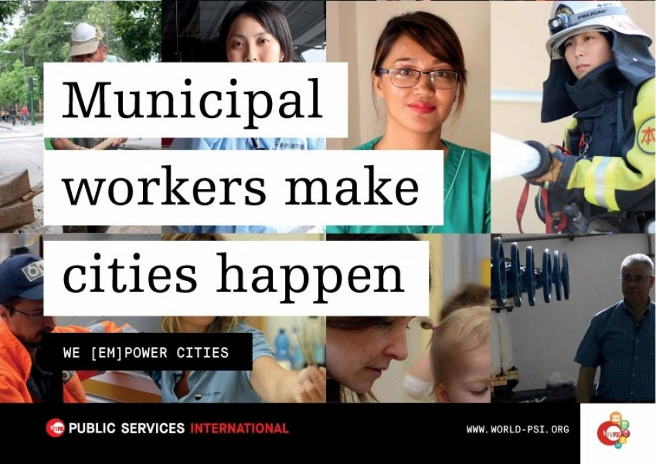 Municipal workers make cities happen