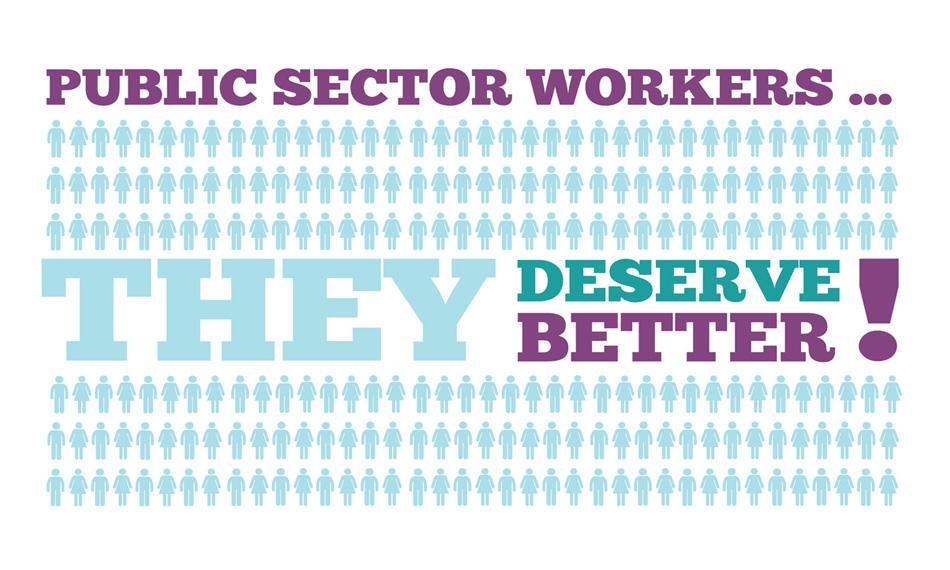 public sector workers deserve better logo