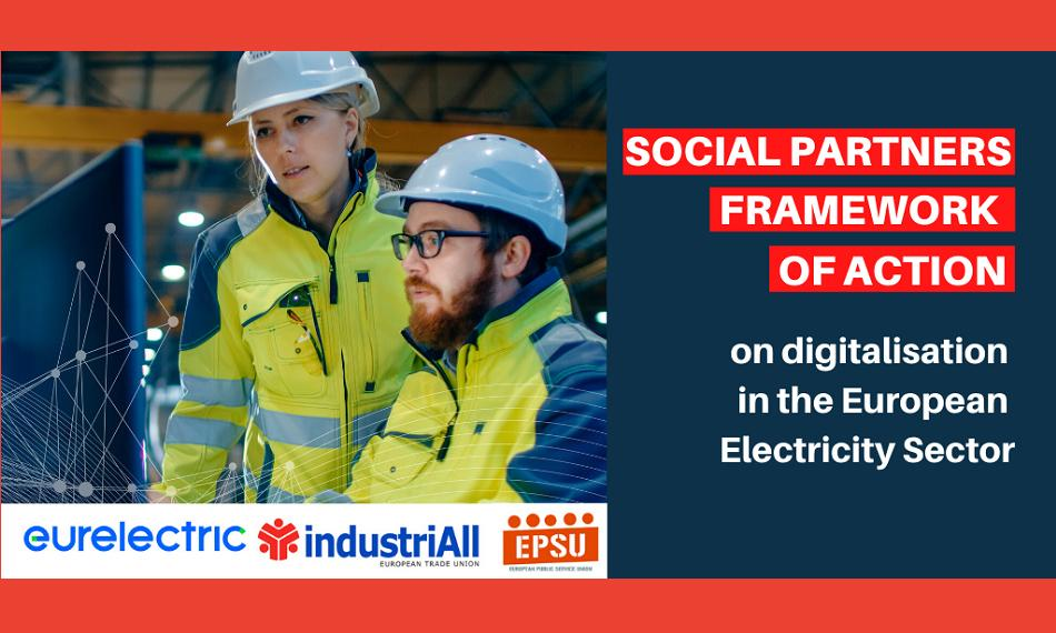 Social partners electricity sector cover report EPSU