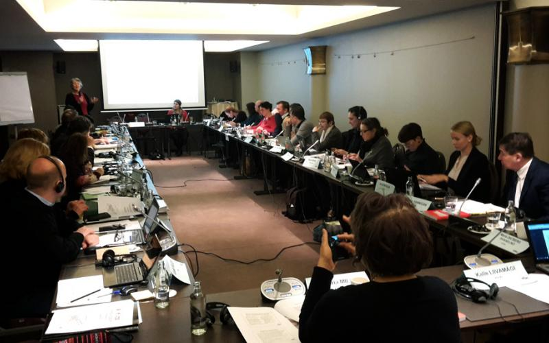 EPSU/ETUI workshop on quality public services, gender equality, and the European Pillar of Social Rights  February 22-23 2018, Brussels