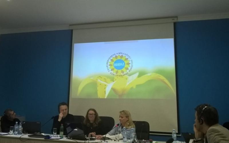 Hungarian Crèche Workers Union BDDSZ at Organizing, recruiting and retaining workers seminar in Belgrade 2017.02.21