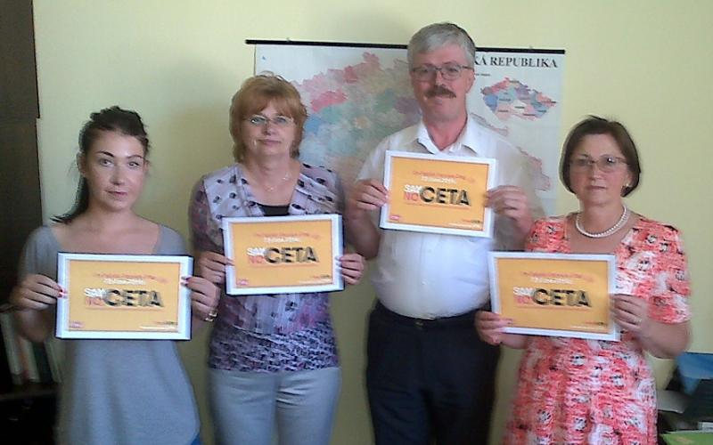 Czech health workers union speaking out against CETA